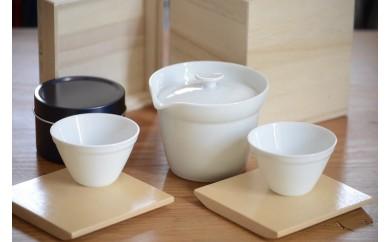 【地場】オ-29 有田焼 お出かけ茶器スペシャルセット