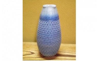 B712 丸田窯 塩釉 花瓶(口形:四角)