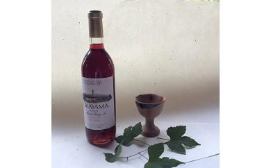 A-0040 岡山県産ワインと備前焼ワイン杯セット