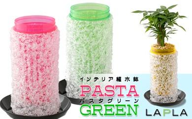 B139-RG 室内用植木鉢「パスタ・グリーン」☆レッド&グリーン☆