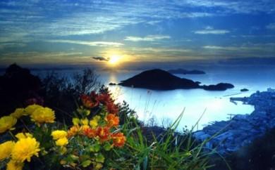 [№5693-0105]仙酔島で心と身体の充電旅行・ペア宿泊券