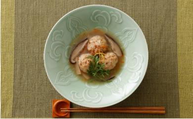 島根のゆず風味鶏だんご 野菜あん 4個セット