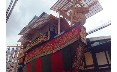 祇園祭山鉾搭乗体験D・後祭(7/21~23)、男女とも搭乗可