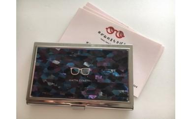 【3P】漆器×眼鏡★技のコラボ『IGATTACOLLETT☆ 名刺入れ』