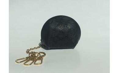 (209) オーストリッチコインケース(黒)