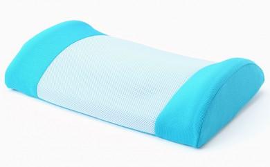 [№5820-0073]押圧による腰痛予防 「ゆらぎ ラ・クッション」 【色:ブルー】