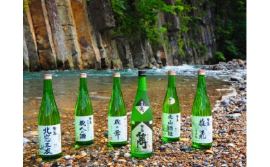 HMG097 【日本酒】地酒・わしの尾 特選飲み比べ6本セット