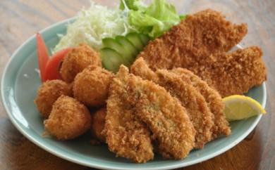 四国一小さな町の料理屋「富士」の特選揚げ物セット