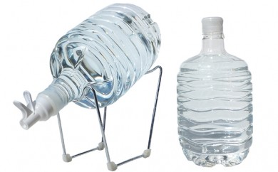 [№5819-0106]非加熱天然水 箱島湧水エア F (8L 計124本、給水器:1セット)