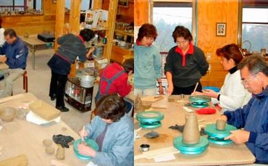 [№5759-0128]大倉窯陶芸教室体験ペアチケット
