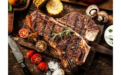 (657)【古民家 胡坐イタリアン】サーロインとロースの2種類のお肉が楽しめる アメリカ産牛Tボーンステーキ