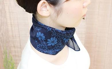 A-53 藍染バンダナスカーフ 1枚