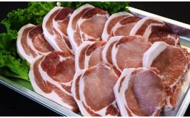 A29277 こだわりポーク!豊後糖蜜豚をステーキや豚カツで(1.65kg)・通