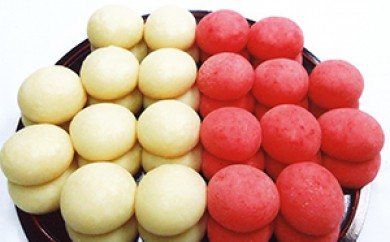[№5696-3005]丸餅(白・海老)