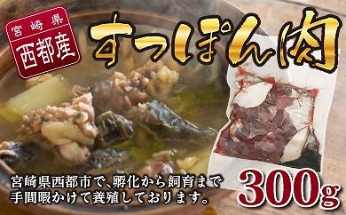 0.8-5 宮崎県西都市産 すっぽん肉300g