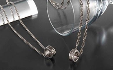 [№5696-3016]純チタン「磁気ネックレス喜平チェーン」