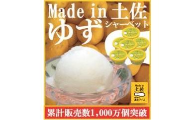 BB460 ゆずシャーベット6個/高知アイス/柚子/ユズ/おいしいんだもの/Madein 土佐【500pt】