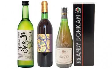 [№5900-0101]ブランデー・梅酒セット