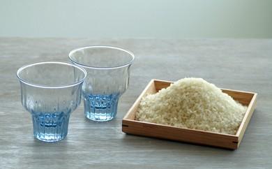 C-0024 GRICEペアグラス+備前産井田酵素米5kg