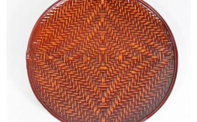 I104 籃胎漆器 丸鉢