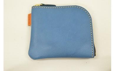 【AF194】minca/Lジップmini/BLUE【34000pt】