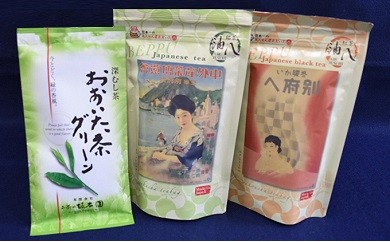 [№5893-0084]大分県産茶と別府油八ティーバッグセット