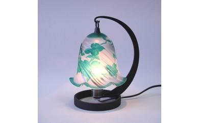 CY01 ガレ調ランプ 緑のハナミズキ【47p】