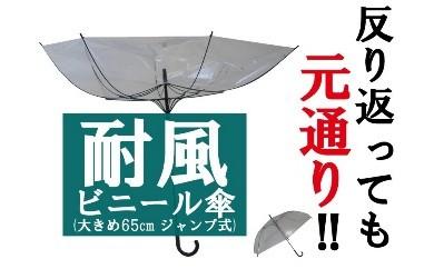 A2耐風ビニール傘65cm