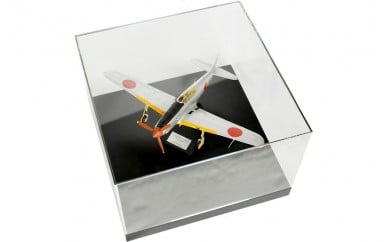 255 飛燕の模型1機+アクリルディスプレイケース(特注品)