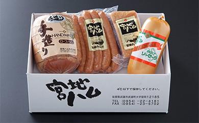 K0-14 【定期便】手造りロースハムとお楽しみセット