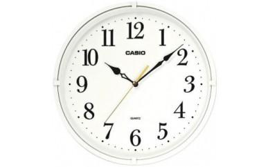 掛時計スムーズ秒針カシオクオーツ