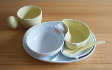 TA01 PiPiお子様用6ピースセット(オレンジ)【白山陶器】