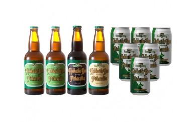 No.098 P2WS4-PK6 北海道ビールピリカワッカ4本・6缶セット / 地ビール 生ビール ピルスナー ヴァイツェン スタウト 北海道 人気