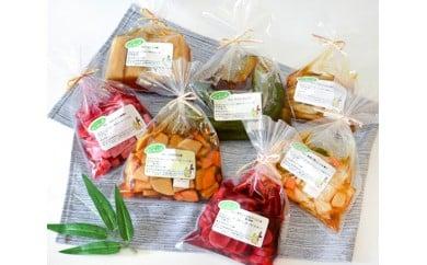 No.074 季節の旬野菜の漬物セット / 手作り 無添加 北海道 人気