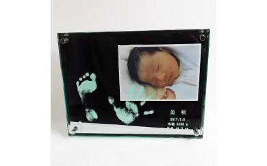 赤ちゃん誕生記念手足形プレート【1021623】