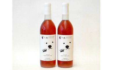 No.087 千歳ワイナリーワインセットA / ハスカップワイン 甘口 フルーツワイン 北海道 人気