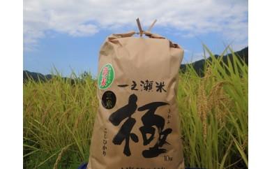 K-2 一之瀬米「極(きわみ)」(玄米10kg)