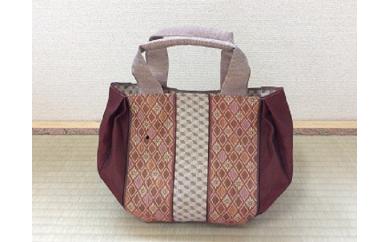 15K-026 畳の縁(へり)で作ったミニトートバッグ