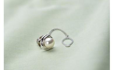 【AF97】真珠品評会入賞常連のオーハタパールが作る海の宝石 アコヤ真珠タイタック【38,000pt】