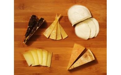半田ファームの自家製チーズセット