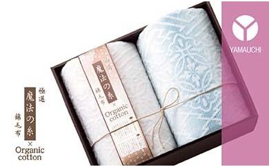 泉州毛布 極選「魔法の糸×オーガニック」(1重織プレミアム綿毛布2枚)