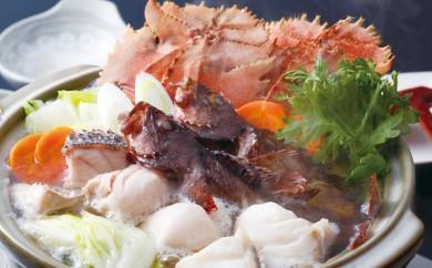 J351 天然くえと満腹地魚海鮮鍋【1,300pt】