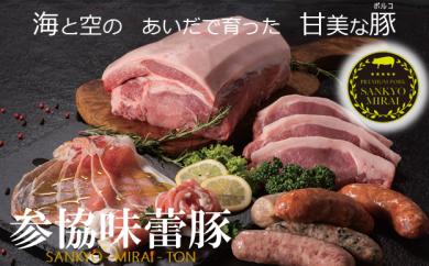 1-03-09参協味蕾豚生ハムセット30年9月発送分