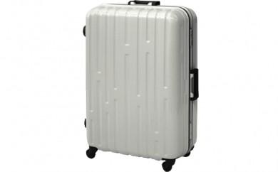 P383 9046Mスーツケース(カーボンホワイト)【1,200pt】