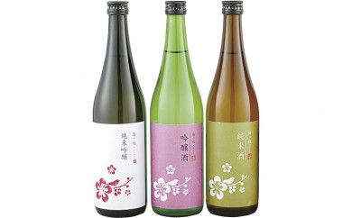 L307 日本酒飲みくらべ3本セット【400pt】