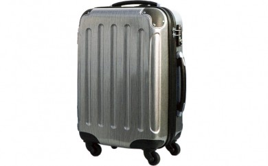 P374 5780スーツケース(メタルシルバー)【400pt】