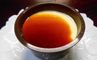 [№5530-0027]菊すみプリン 和三盆のカラメルソース
