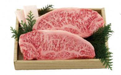 K348 長崎和牛ロース肉ステーキ(2枚)【1,200pt】