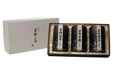 玉露・冠茶・煎茶セット【オリジナル茶缶入り】