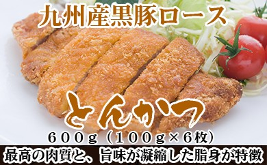 A192.九州産黒豚ロースとんかつ(600g)